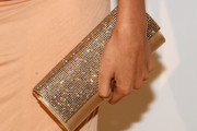 Freida Pinto Gemstone Inlaid Clutch