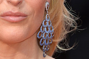 Gillian Anderson Chandelier Earrings