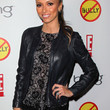 Giuliana Rancic Clothes - Leather Jacket