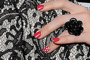 Gretchen Rossi Red Nail Polish