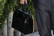 Gwen Stefani Leather Bowler Bag