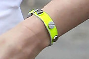 Gwen Stefani Leather Bracelet