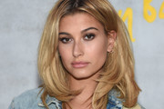 Hailey Baldwin Shoulder Length Hairstyles