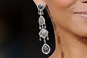 Halle Berry Diamond Chandelier Earrings