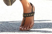 Halle Berry Studded Sandals