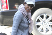 Halle Berry Wool Scarf