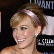 Hilary Duff Bobby Pinned updo