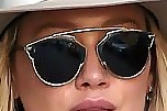 Hilary Duff Modern Sunglasses