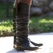 Hilary Duff Knee High Boots