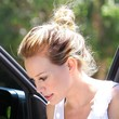 Hilary Duff Loose Bun