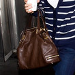 Hilary Swank Handbags - Leather Shoulder Bag
