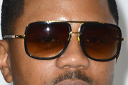 Hosea Chanchez Rectangular Sunglasses