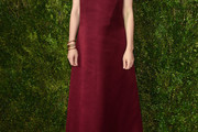 Carey Mulligan Strapless Dress