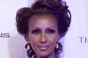 Iman Bobby Pinned updo
