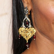 Jada Pinkett Smith Jewelry - Gemstone Chandelier Earrings