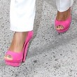 Jada Pinkett Smith Shoes - Peep Toe Pumps