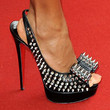 Jada Pinkett Smith Shoes - Studded Heels