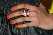 Jameela Jamil Bright Nail Polish