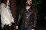 Jamie Mazur Leather Jacket