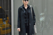 Jane Lynch Trenchcoat