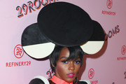 Janelle Monae Hair Accessories