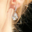 January Jones Jewelry - Dangling Diamond Earrings