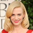 January Jones Hair - Medium Wavy Cut