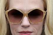 January Jones Oversized Sunglasses