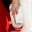 January Jones Satin Clutch