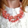 Glee Flower Statement Necklace