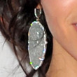 Jenna Dewan-Tatum Jewelry - Dangling Diamond Earrings
