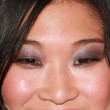 Jenna Ushkowitz Metallic Eyeshadow