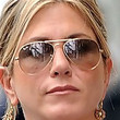 Jennifer Aniston Sunglasses - Aviator Sunglasses