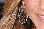 Jennifer Aniston Diamond Hoops