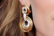 Jennifer Garner Gold Hoops