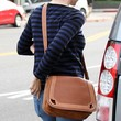 Jennifer Garner Leather Messenger Bag