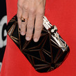 Jennifer Garner Handbags - Metallic Clutch