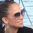 Jennifer Lopez Sunglasses - Designer Shield Sunglasses