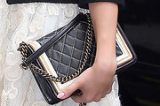 Jennifer Lopez Quilted Clutch