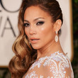 Jennifer Lopez Retro Hairstyle
