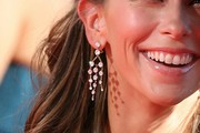 Jennifer Love Hewitt Diamond Chandelier Earrings