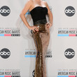 Jenny McCarthy Strapless Dress