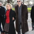 Jeremy Irons Clothes - Fur Coat