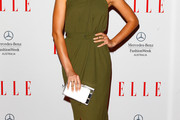 Jesinta Campbell Halter Dress