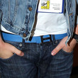 Jesse McCartney Leather Belt
