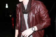 Jesse McCartney Leather Jacket