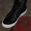 Jesse McCartney Leather Sneakers