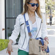 Jessica Alba Clothes - Denim Jacket