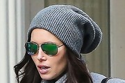 Jessica Biel Winter Hats