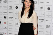 Jessica Brown-Findlay   Button Down Shirt